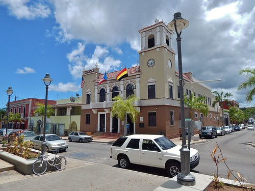 City Hall, Coamo, Puerto Rico