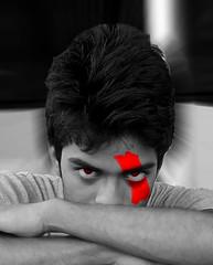 Jimmy (Jimmy vishwakarma) Tags: red black jimmy angry vishwakarma