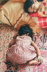 Leah (Joseph D'Mello) Tags: sleeping baby india film kids 35mm leah patterns bangalore babygirl 35mmfilm karnataka kidsactivities ilovefilm pattrns kodakultramax400 istillshootfilm kidwashingclothes