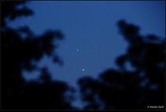 Jupiter & Venus Conjunction 30 June 2015 (twinklespinalot) Tags: venus astrophotography astronomy jupiter lightwave altair conjunction canoneos700d 72edr