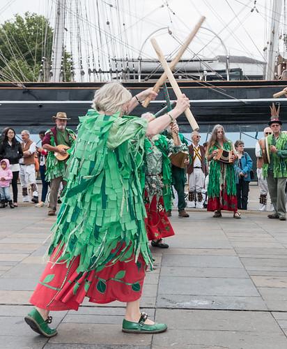 Maenads Morris, the wild women of Kent