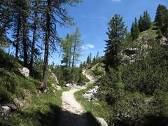IMG_9475 (Bike and hiker) Tags: santa val alpen roda dolomites moos dolomiti badia croce dolomiten armentara dolomieten gadertal kreuzkofel darmentara alpenwiesen