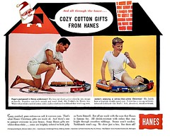 Be relaxed when you play with your train sets (In Memory of ColGould) Tags: underwear advert shorts wacky underpants hanes