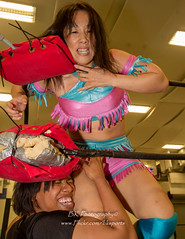 Sumie Sakai, Jessie Brooks-5 (bkrieger02) Tags: 1st anniversary wrestling pro squaredcircle valkyrie divas knockouts womenswrestling professionalwrestling divarevolution womensprofessionalwrestling valkyriewomenswrestling