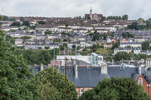 VIEWS OF THE CITY FROM THE WALLS OF ELIZABETH FORT [CORK] REF-106680