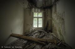 Turn down for what! (Tamara de Koning) Tags: wood old house abandoned broken window lamp decay room memories rest sanatorium verlassen verfallen verlaten rusthuis rumburak