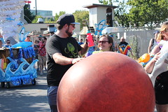 Keeping the Ball Rolling (Chicago John) Tags: seattle fair fremont parade solstice 2015 fremontfair