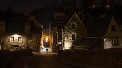 L'heure des ombres.jpg (BoCat31) Tags: nuit photodenuit maison bretagne dinan ambiance photoderue