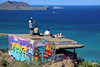 First pillbox-remnant of WWII (limecow96) Tags: hawaii diamondhead lanikai beach waikiki honolulu oahu hanaumabay pearlharbor