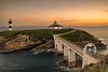 Isla-Pancha (naret) Tags: isla pancha ribadeo mar island sea cantabrico paisaje landscape nigth amanecer dawn estrellas star lighthouse faro