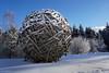 Snowball (clé manuel) Tags: winter sculpture snow art kunst kunstwerk artwork wood holz schnee fichtelgebirge skulptur klausenberg mehlmeisel fichtelberg germany sonyalpha