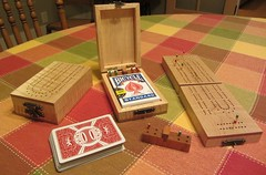 Traveling Cribbage Board (Minnesota Woodworkers Guild) Tags: minnesota woodworkers guild games