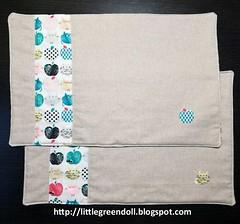 6704-Individuales-MugRug (Silvia LGD (Little Green Doll)) Tags: crafts patchwork fabrics telas dashwoodstudio handmade hechoamano individual mantelitoindividual placemat mugrug posavasos coaster individuales linen lino