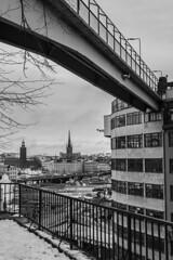 Silta Tukholmassa, crop 2 (kimblenaattori) Tags: bridge yashica ml 28mm stockholm sverige sweden