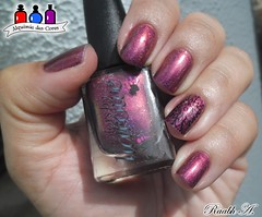 Red Dawn - Colors by Llarowe (Raabh Aquino) Tags: unhas esmalte indie llarowe nails nailpolish naillacquer multichrome holográfico holographic vermelho magenta roxo red