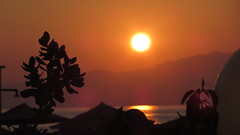Sunset (Vesa Thynell) Tags: ocean sx220hs canon crete agiamarina mountains landscape sunset dusk beach vacation holiday