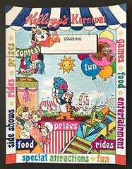Vintage 70's Kellogg's Karnival Cereal Concept Production Art (gregg_koenig) Tags: vintage 70s kelloggs karnival cereal concept production art box tusk 1970s tony tiger old