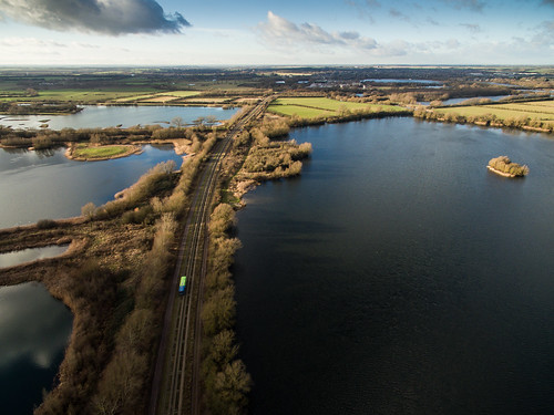 Fen Drayton Lakes and the Guided Busway