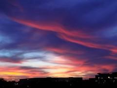 sunset (just me julie) Tags: tempe arizona az sunset sky cloudyday