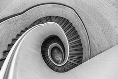 Newport Street Gallery Spiral (scarlet-pimp) Tags: artgallery bnw londonist art newportstreet staircase mono canon5d damienhirst sculpture monochrome timeout visitlondon steps london jeffkoons canon5dmarkiii stairwell travelphotography architecture travel newportstreetgallery blackandwhite eos theguardian brilliant
