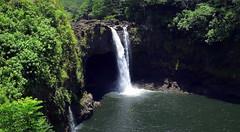 Rainbow Falls (PeterCH51) Tags: hawaii bigisland hilo waterfall rainbowfalls river scenery waiānuenue wailukuriver tropical rainforest peterch51