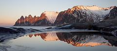Senja Norway (peterspencer49) Tags: peterspencer peterspencer49 norway senja fjord reflections reflection arcticcircle arctic winterview winter mountain