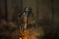 IMG_1643 (wadetaylor) Tags: threea threeacustom smoke smokeball coloredsmoke gasmask sparks
