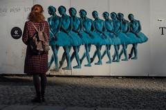 girls dreams (Georgie Pauwels) Tags: street candid olympus streetphotography advertisementboard billboard primaballerina ballet dancer balletdancer