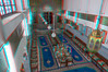 Synagogue Slat Laazama, Marrakech, Maroc (Pascale Jaquet & Olivier Noaillon) Tags: architecturehébraïque anaglyphe religionjuive ambiance synagogue décoration anaglyph lampes rené kippa marrakech marrakechtensiftalhaouz maroc ma