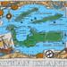 Cayman Islands - Map on Shirt