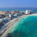 Cancun beach aerial - Luftbild