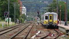 AM 624 - L154 - JAMBES (philreg2011) Tags: trein jambes nmbs sncb am66 l154 amclassique l20144585 l20144550 am624