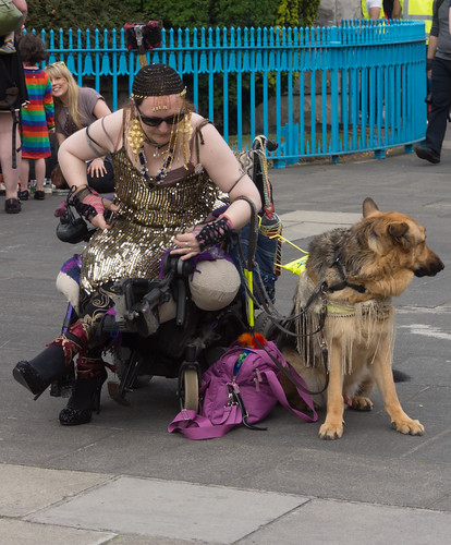 DUBLIN 2015 LGBTQ PRIDE FESTIVAL [PREPARING FOR THE PARADE] REF-106211