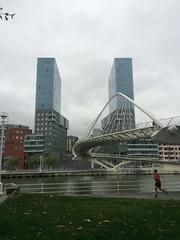 Calatrava Bridge Bilbao (inigo.vanaman) Tags: bridge espaa rio river puente spain bilbao calatrava euskadi nervion uribitarte