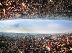 Vision (jacopobenedetti.com) Tags: hello world city sky people cloud sun love animals architecture clouds composition digital photography mirror town photo experimental photographer dream picture pic photographic ciao dreaming vision cielo layers discovery amore prospective domore photomarge talkless