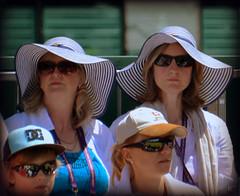 Hats (Carine06) Tags: grass hat hats tennis spectators wimbledon 2015 grasscourt court16