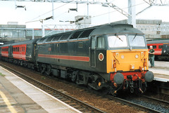 47701 (R~P~M) Tags: uk greatbritain england train diesel unitedkingdom railway locomotive staffordshire 47 stafford virgintrains staffs fragonset