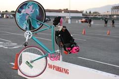 NO PARKING (Richard Masoner / Cyclelicious) Tags: bicycle cycling cyclist sanjose bikes nightlife friday bikeparty