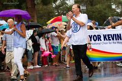 2015.07.18_SD_Pride-4 (bamoffitteventphotos) Tags: california summer usa rain weather umbrella sandiego mayor banner july pride event prideparade northamerica politician 18 balboapark hillcrest 2015 sandiegopride july18 sdpride lgbtq onesd kevinfaulconer balboadrive onesandiego