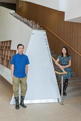 DSC09743edited (Lam Mau) Tags: art couples lovers installation hunter publicart tuenmun soundscape 2015 hunterboots artivatingpublicbuildings livingsoundscapetuenmun livingsoundscape