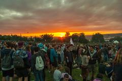Sacred Space Sunset (Litost.) Tags: sunset day1 sacredspace glastonbury2015