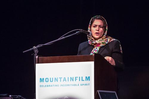 Mountainfilm Symposium - Fawzi Koofi
