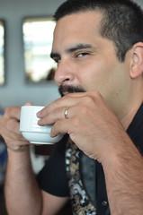 Me and my tea (VancouverGeek) Tags: jon tea richmond hightea fairmontairport