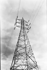 Tower (Cristo Bolaos) Tags: sky blackandwhite white black blancoynegro blanco clouds negro d76 developer cielo nubes 100 redfilter fomapan100 filtrorojo fomapan film:iso=80 film:brand=foma film:name=fomafomapan100
