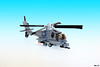 Boeing AH-64 Apache (Devid VII) Tags: boeing ah64 apache lego mod devid devidvii military militarycrew advanced attack helicopter