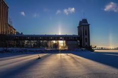 Accidental halo (TimoOK) Tags: vaasa finland suomi ice jää meri sea sun aurinko halo
