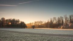 Winter Sunrise ... 2 (Alex Verweij) Tags: almerehaven almere sunrise zonsopkomst alex verweij alexverweij canon landscape winter 2017 cold ice ijs snow
