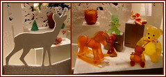 Vitrine DAUM (MAPNANCY) Tags: vitrine daum animaux couleurs noël