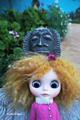 Scary guy (mademoiselleblythe) Tags: blythe doll zaloa custom reroot stellina