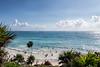 Tulum Ruins (Beau Finley) Tags: beaufinley roo quintanaroo beach ocean sea shore sand water sky seascape palm tree ruins tulum qroo
